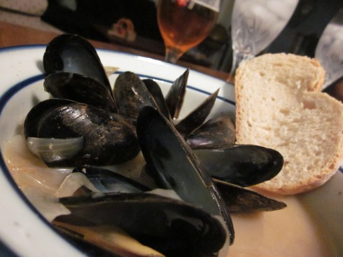 Mussels Trieste-Style